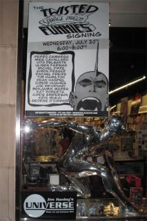 Jim Hanley's store front