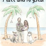 Matt and Krystal's Wedding Invitation