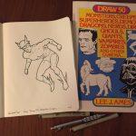 Inktober Sketch – Quicksilver