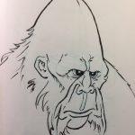 Inktober Sketch – Sasquatch