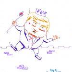 President Trump Sketchbook – Week 1