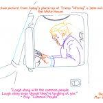 President Trump Sketchbook – Week 9