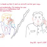 President Trump Sketchbook – Week 12