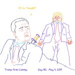 President Trump Sketchbook – Week 16