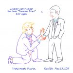 President Trump Sketchbook – Week 18