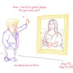 President Trump Sketchbook – Week 25