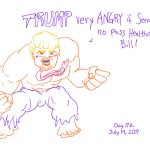President Trump Sketchbook – Week 26