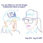 President Trump Sketchbook – Week 32
