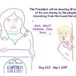 President Trump Sketchbook – Week 33