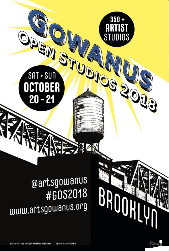 Gowanus Open Studios 2018 Poster