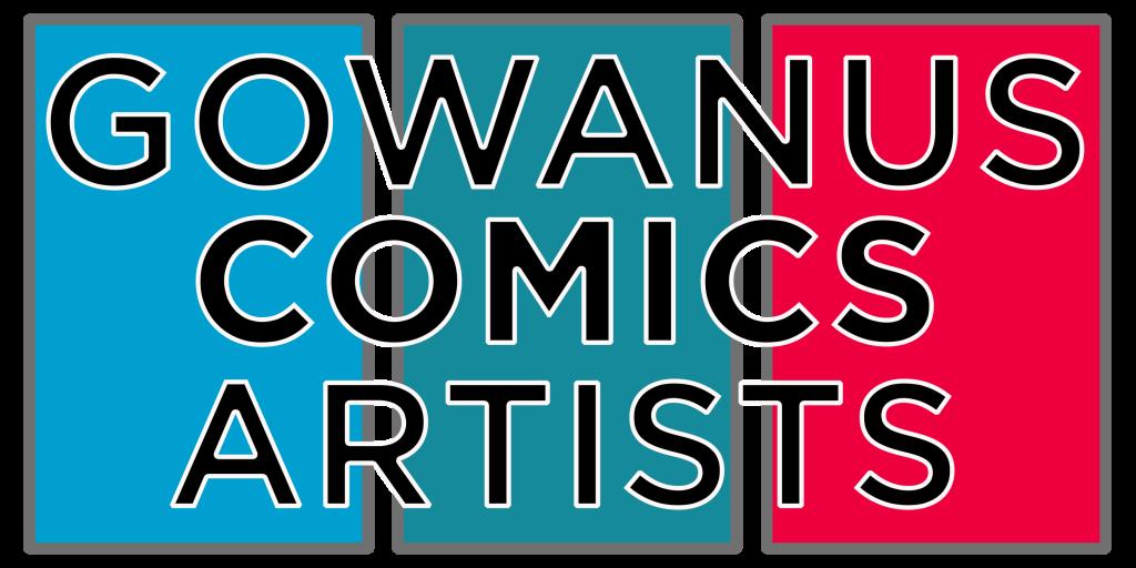 Gowanus Comics Artists Logo
